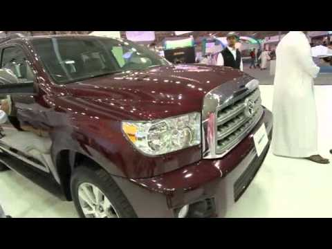 Tour of the Toyota Booth at Riyadh Motor Show 2010