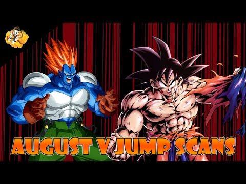 August V Jump Scans Leaks Dragon Ball Legends DB DBL DBZ