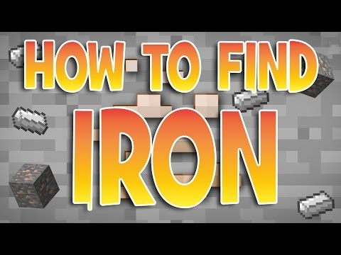 How To Find Iron FAST | Minecraft Tutorials | Xbox One / 360 PS3 PS4 / PC