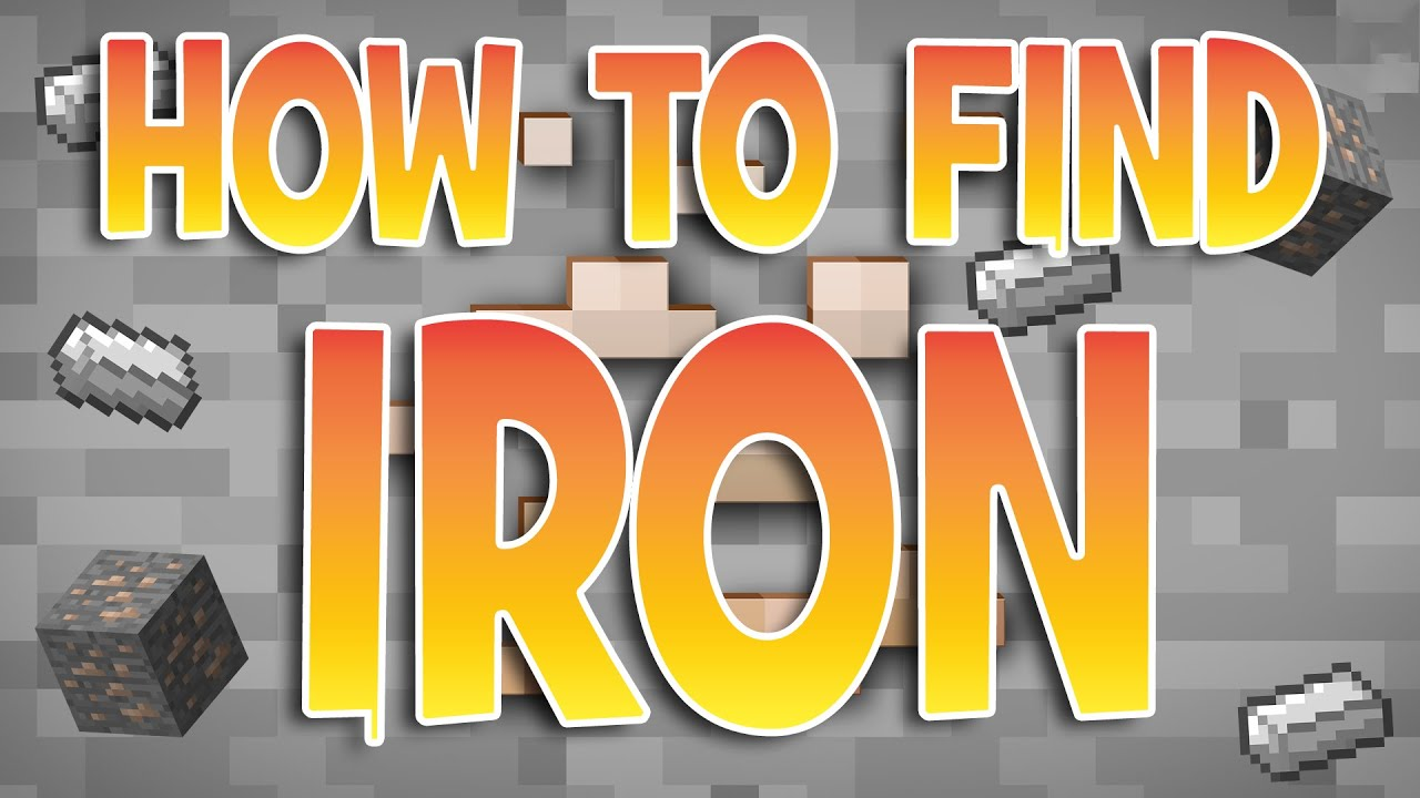How to find iron FAST  Minecraft Tutorials  Xbox One / 9 PS9 PS9 / PC