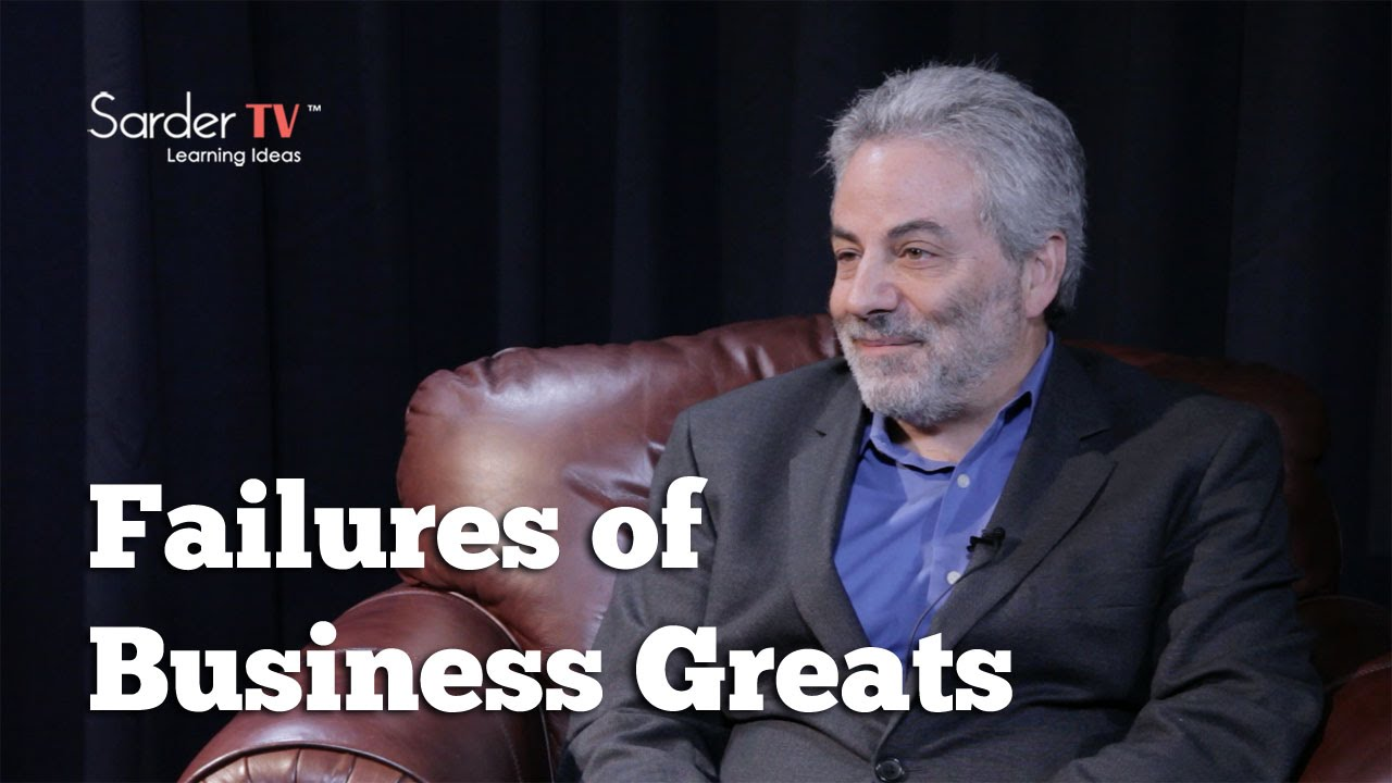 David Yoffie: Failures of Business Greats - SarderTV