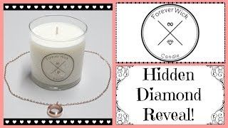 ForeverWick Candle - A Diamond in Every Candle!