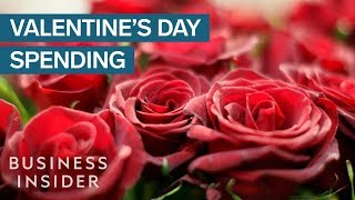 Fewer Americans Are Celebrating Valentine's Day But Spending Is At An All-Time High