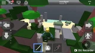 M-am jucat un joc cu ninja pe roblox