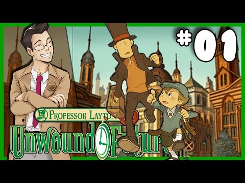 Professor Layton and the Unwound Future |
