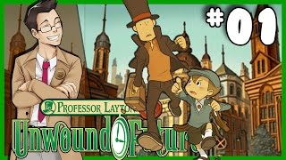 """Professor Layton and the Unwound Future 