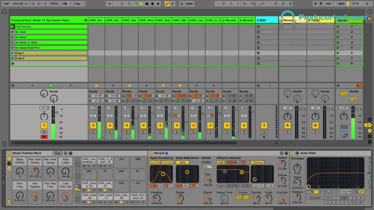 Free Ableton Live Rack Download - Instant House Groove Template