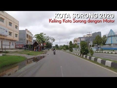 Keliling Kota Sorong 2020, Kota Terbesar di Papua Barat | Papua Motovlog