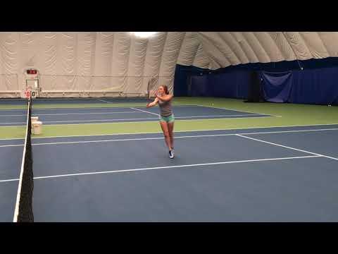 Killeen Wareham College Tennis Video