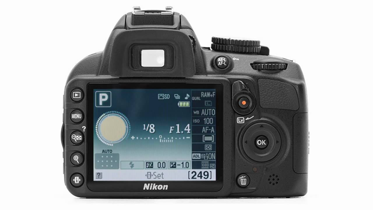 d3100 video mode shutter speed control youtube rh youtube com Nikon D3100 Parts Manual Mode Nikon D3100