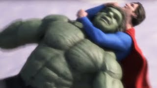 Making of Superman vs Hulk - The Fight (Part 4) - Draft #6