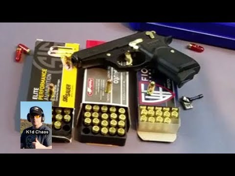 Bersa Thunder 380 With Gold Parts Youtube