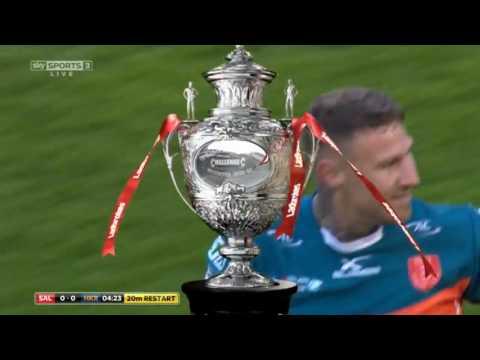 Salford Red Devils vs Hull KR Ladbrokes Challenge Cup