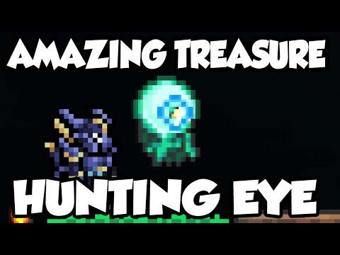 Best Terraria 1.3 Items - The 'Suspicious Looking Tentacle' Amazing Treasure Hunting Eye! [1.3]