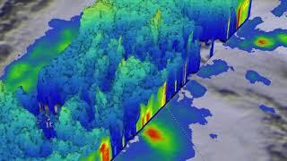 GPM's 3-D Flyby Animation of Jongdari