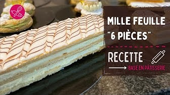Montage 6 mille-feuilles individuels