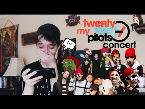 My Twenty One Pilots Concert (WARNING: Gross Sobbing and Bad Singing is Involved)