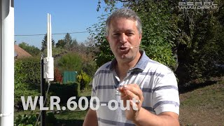 Antenne répéteur wifi outdoor ''WLR.600-out'' - 600 Mbps [PEARLTV.FR]