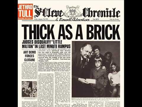 Jethro Tull - Thick As A Brick (Part I) mp3