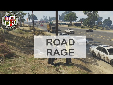 GTA IV/5: DPS Clan - Patrol 168 - Road Rage