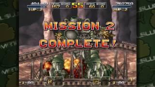 Metal Slug XX Two-Player Run Hard Mode