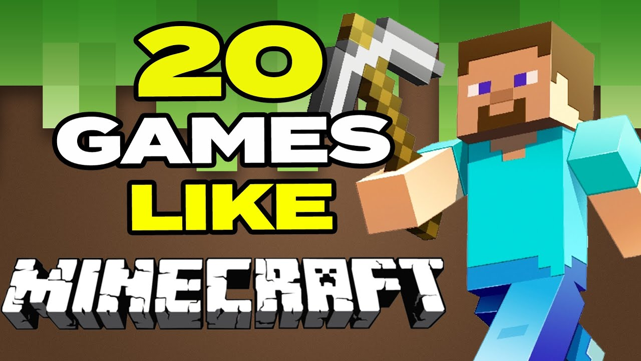 TOP 20 BEST Games Like Minecraft For Android & iOS | Crafting Games