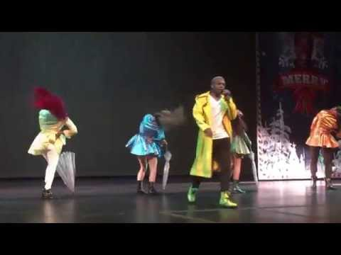 Todrick Hall's Twerk the Halls: Twerking in the Rain
