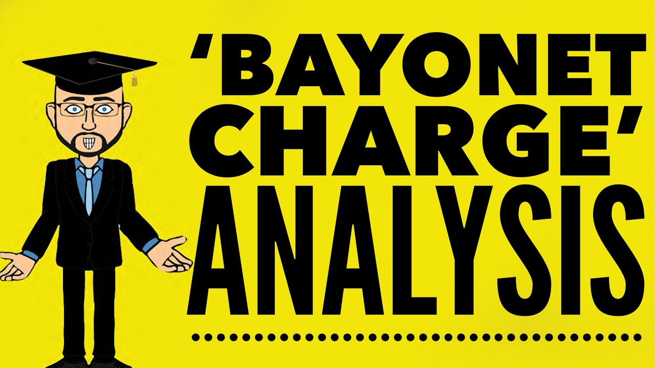 bayonet charge ted hughes analysis