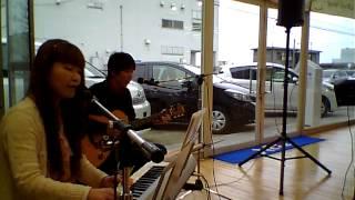 2013年4月20日 ネッツトヨタ富山西店マンスリーライブ.