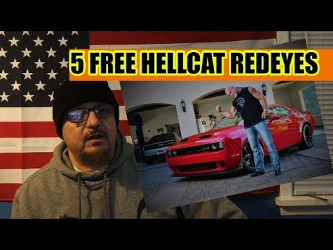 Dodge Is Giving Away 5 Challenger Hellcat Redeyes!