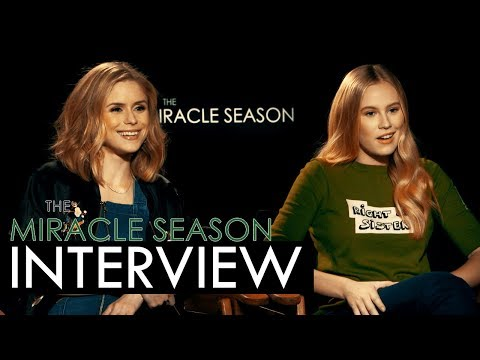 The Miracle Season : Erin Moriarty & Danika Yarosh