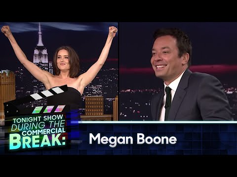 During Commercial Break: Megan Boone