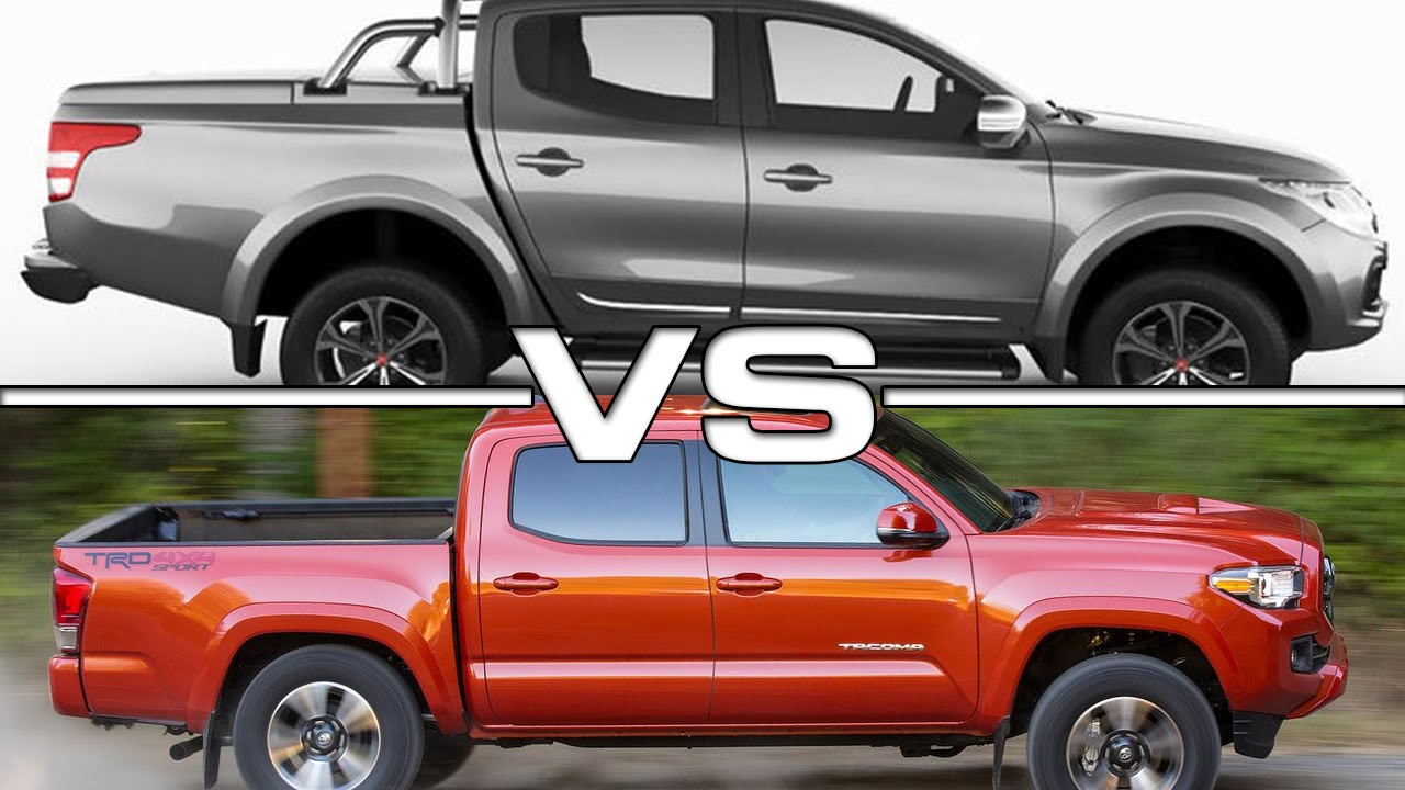 Fiat Fullback Pickup vs Toyota Tacoma - YouTube