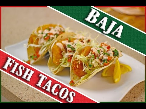 How To Make Fish Tacos (Ensenada Style)