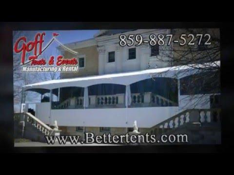 BetterTents | custom enclosures | table covers | custom walls | patio enclosures