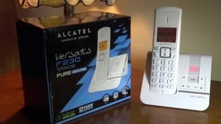Alcatel 'Versatic' F203 Cordless Telephone