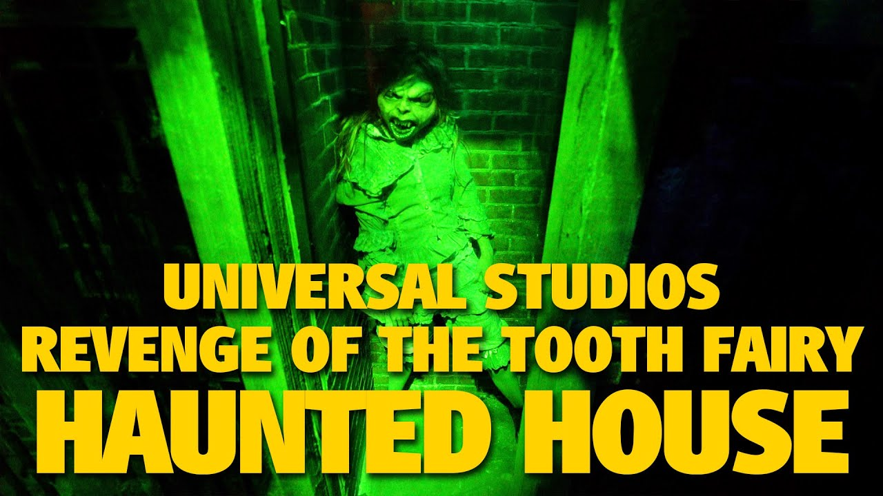 Revenge of the Tooth Fairy HHN Haunted House Highlights | Universal Studios