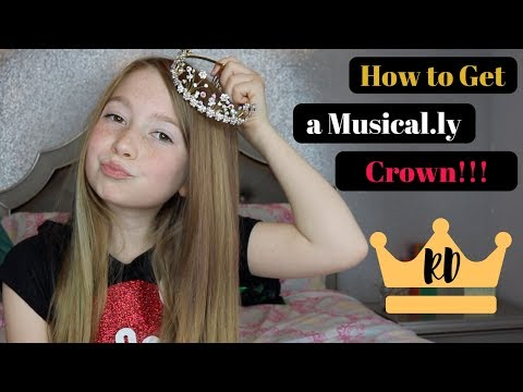 HOW TO GET A MUSICAL.LY CROWN!!!  |  Rilyn Dinyae