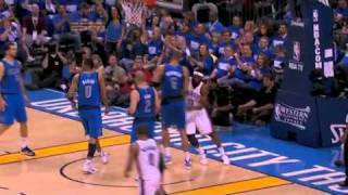 NBA Playoffs 2011: Dallas Mavericks Vs OKC Thunder Game 3 Highlights (2-1)
