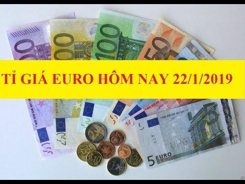 Tỷ Giá Euro Hôm Nay (22/1): Giá Mua EUR Chợ đen Tăng Nhẹ Lên 26.320 VND/EUR