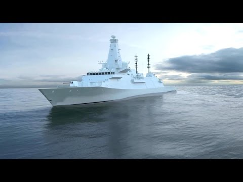 BAE Systems - Type 26 Global Combat Ship Simulation [1080p]