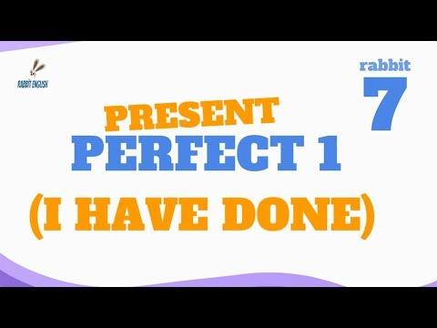 07 - Тренируем PRESENT PERFECT. Часть 1 (I HAVE DONE)