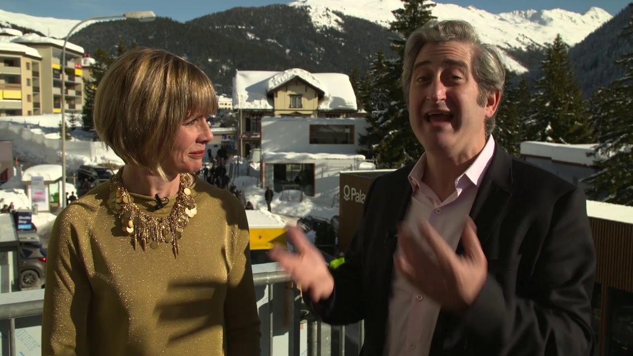 Hub Culture Davos 2018 - David Shrier, Founder & CEO of Distilled Analytics