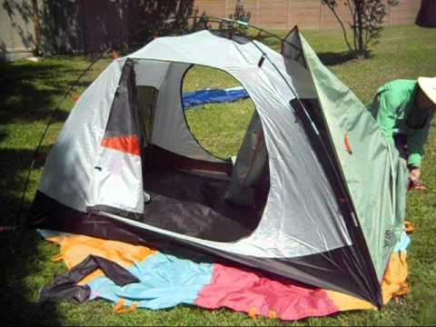 Ten Minute Tent Alps Mountaineering Meramac 2 Backpacking Tent PItch & Ten Minute Tent: Alps Mountaineering Meramac 2 Backpacking Tent ...