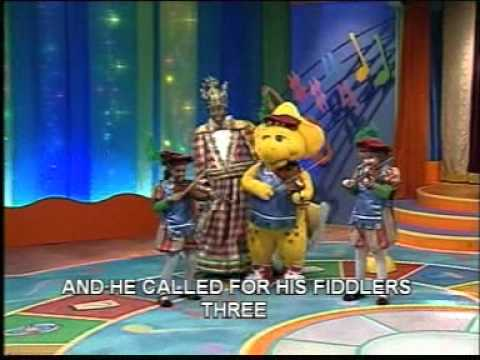 barney sing that song - old king cole