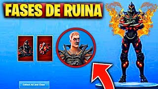 How can you UNLOCK ALL RUINA FASES in FORTNITE SKIN RUINA SECRET KEY
