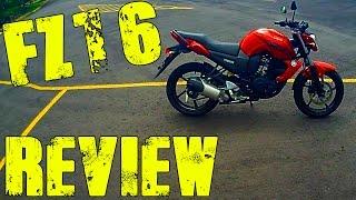 2014 Yamaha FZ16 Review - FZ16 Evaluación