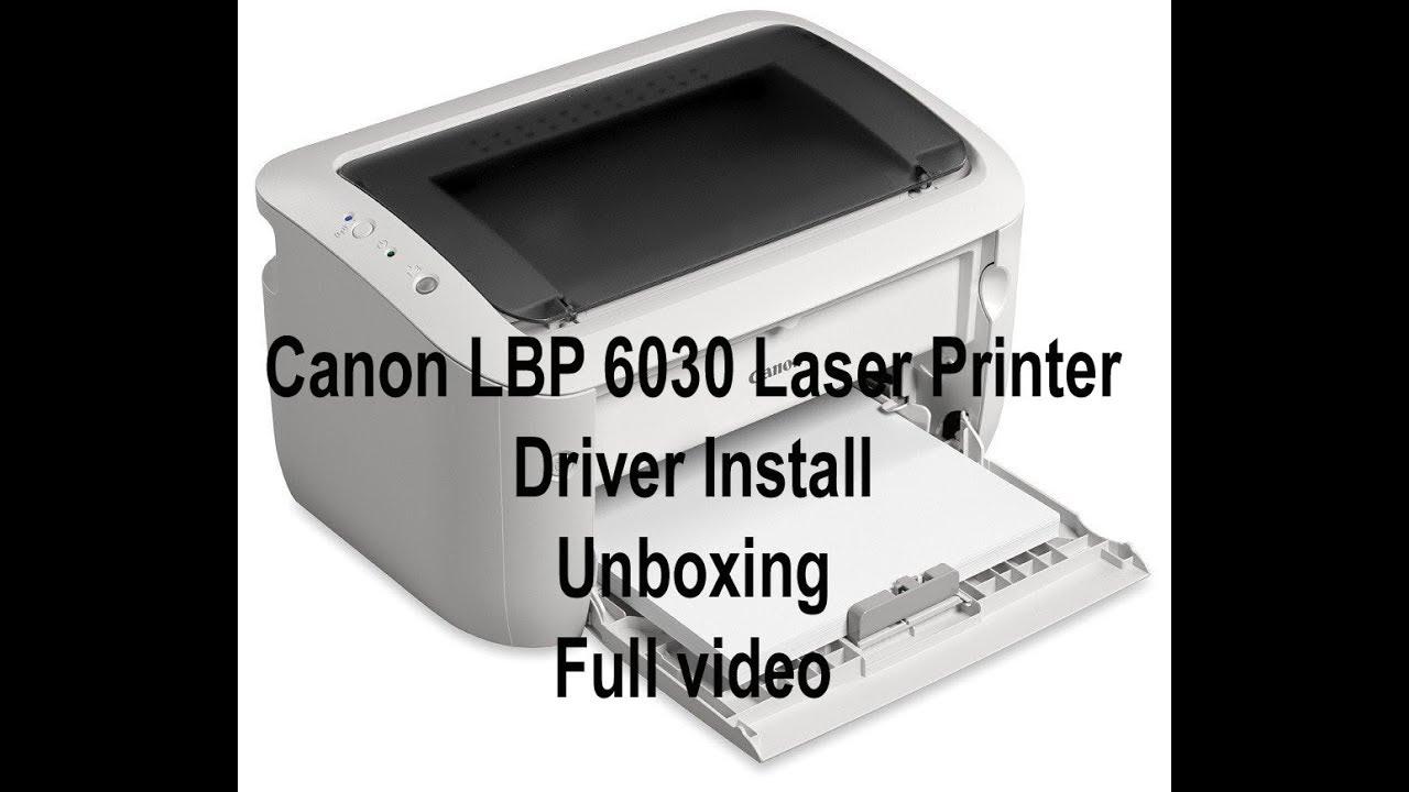 driver imprimante canon lbp 6030