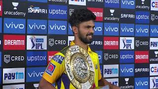 Sparkling Rutu winning over hearts and the MOM! #CSKvSRH