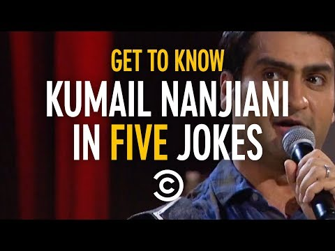 Get to Know Kumail Nanjiani in Five Jokes